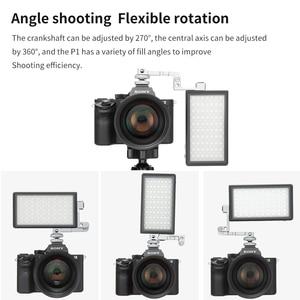 Image 4 - בולינג BL P1 12W צילום תאורה עם RGB מלא צבע Dimmable 2500K 8500K עבור DSLR מצלמה סטודיו vlogging LED אור