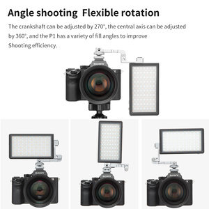 Image 4 - Boling BL P1 12W Photography Lighting with RGB Full Color Dimmable 2500K 8500K for DSLR Camera Studio Vlogging LED Light