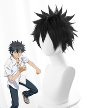 Touma Kamijou Cosplay Wig Certain Magical Index III Brown Adult Synthetic Hair Anime