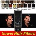 TOPPIK hair building fibers venta directa de la fábrica con buena calidad para la pérdida del cabello adelgazamiento del cabello 27.5g