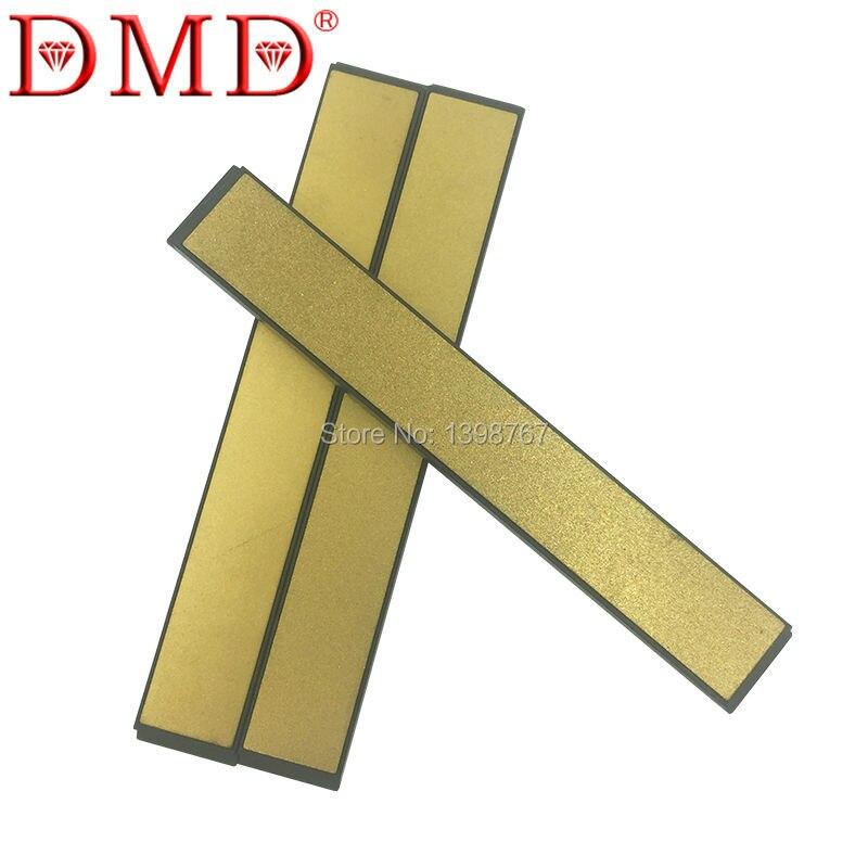 3pcs a set DMD New Fixed Angle Kitchen titanizing diamond Sharpener knife sharpening stone whetstone free