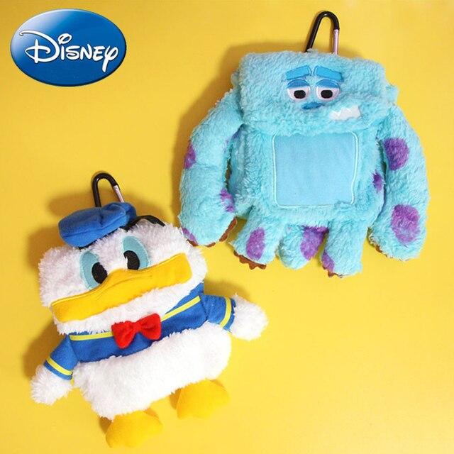 Disney Kawaii Bonito Pato Donald de Pelúcia Mochila Criança Mochila De Pelúcia Bolsa Animais Saco Do Brinquedo Saco de Escola Das Crianças Caçoa o Presente Da Menina brinquedo