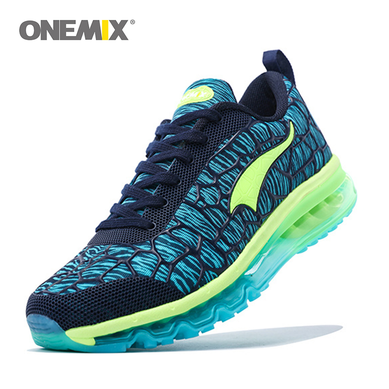 Onemix 2016 Damping Mens Running Shoes Breathable Outdoor Walking Sport Shoes New Mens Athletic Sport Sneakers size 39-46  2017 mens running shoes breathable male outdoor walking sport shoes new man athletic sport sneakers for adults