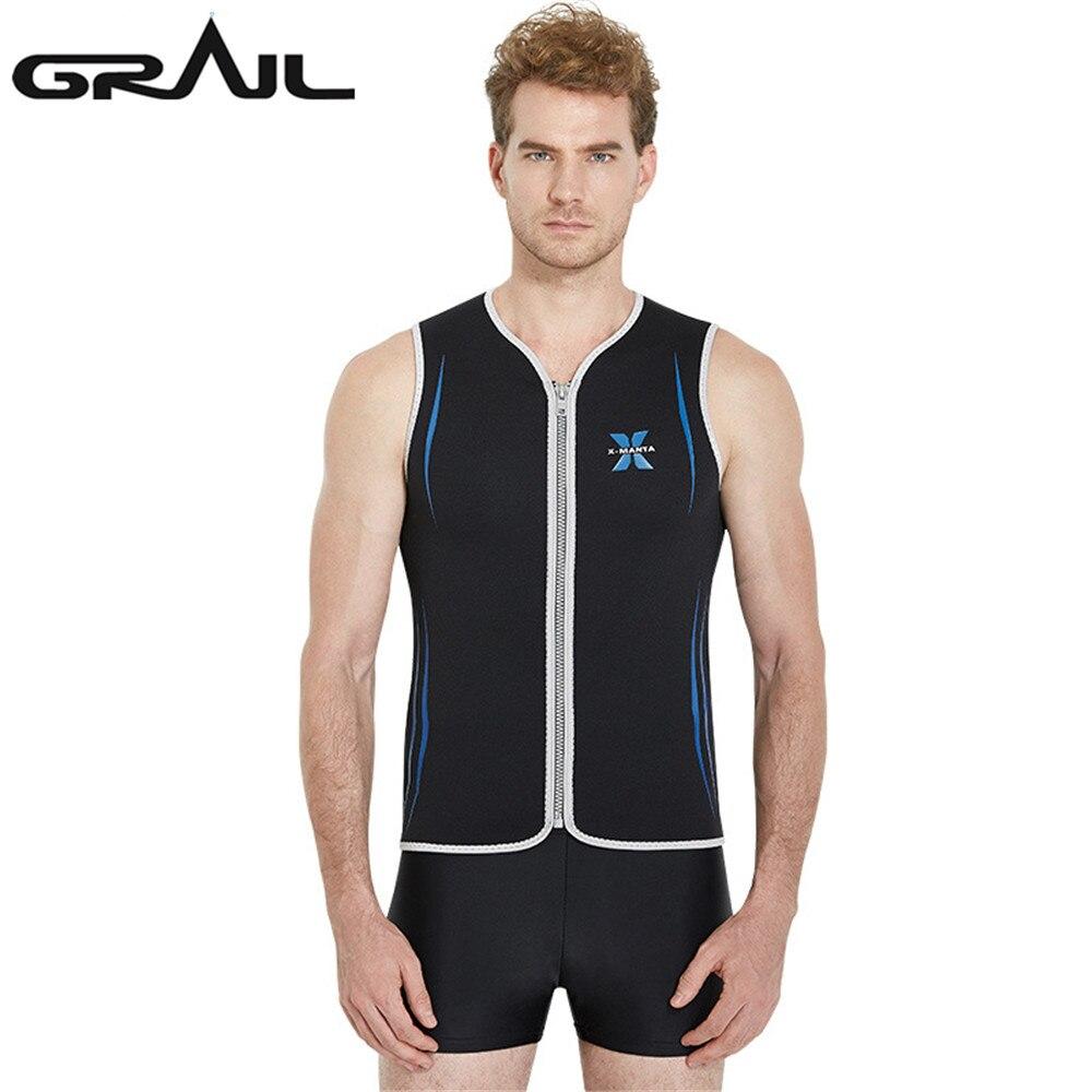 GRAIL 3MM Neoprene Scuba Thickness Diving Suits Men Zipper ...