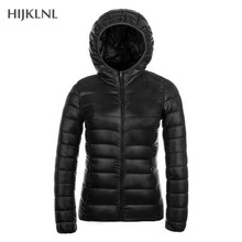 HIJKLNL Ultralight Down Jacket 2019 New Autumn and Winter Wo