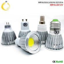 Lowest pirce Lampada Led E27 E14 GU10 COB light 9w 12w 15w Bombillas Led Spotlight Warm Cool White MR16 12V led Bulb GU 5.3 220V