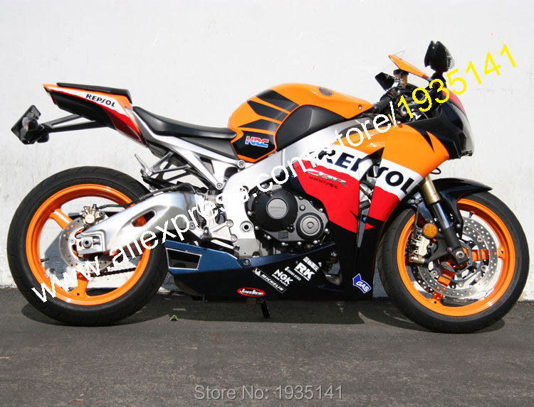 Hot Sales,Repsol Fairing For Honda CBR1000RR 2008-2011 CBR1000 RR 08 09 10 11 ABS Plastic Motorcycle Fairing (Injection molding)