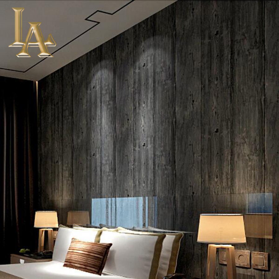Modern Vintage Simple Wooden Wallpaper For Walls Decor 3D Wall Paper Rolls For Bedroom Living Room Sofa TV Background simple particle embossed plaid glitter flower wallpaper living room tv background modern wall covering floral wall paper rolls