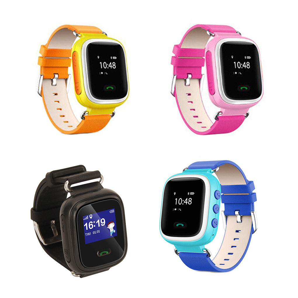Anti-lost Q60 Child Smartwatch Safe-keeper Sos Call Monitor Real Time Tracker For Children Base Station Location App Control Watches
