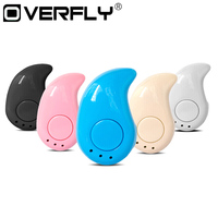 Overfly Small Stereo S530 Bluetooth Earphone 4.0 Auriculares Wireless Headset Micro Earpiece for xiaomi phone Fone de ouvido