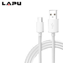 LAPU high quality iPhone android Micro USB data line mobile phone smartphone universal PVC fast charging