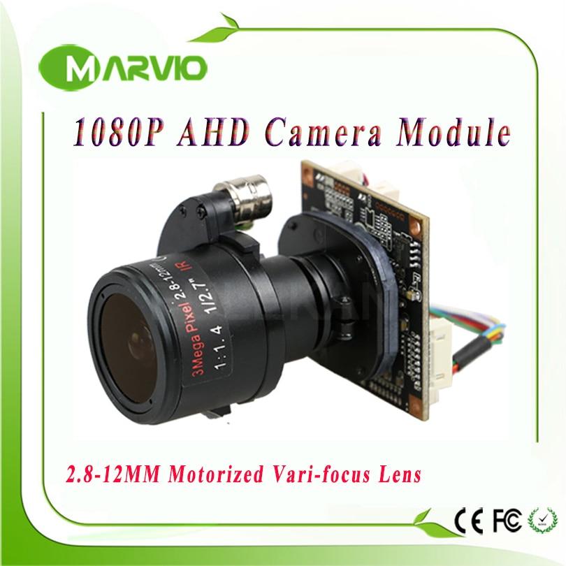 ФОТО 1080P AHD-H FULL HD 2.8-12mm Motorized Zoom & Auto Focal Lens 1/3