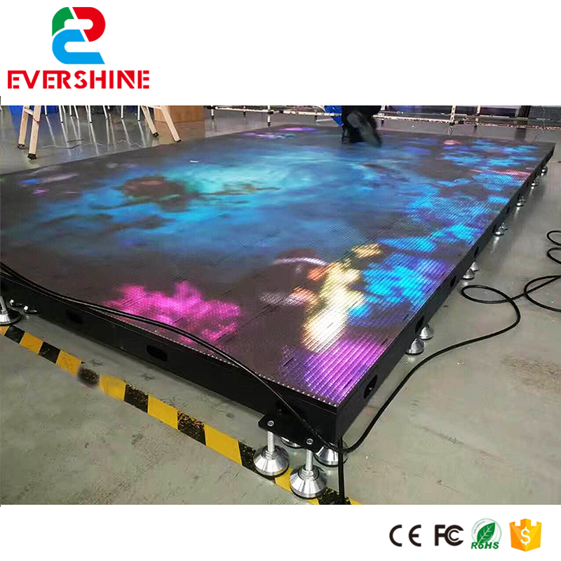 Shenzhen Factory Performance Show Video LED Dance Floor Display Rental Usage