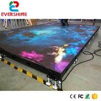 Promo Uso de alquiler de pantalla LED para pista de baile de Video de espectáculo de fábrica