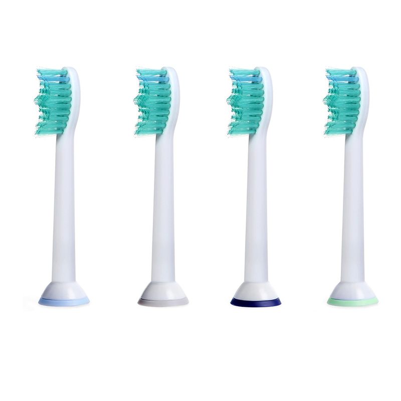 4pcs/lot Replacement Toothbrush Heads For Philips Sonicare ProResults HX6100 HX6150 HX6411 HX6431 HX6500 HX6511 HX6982 HX9332