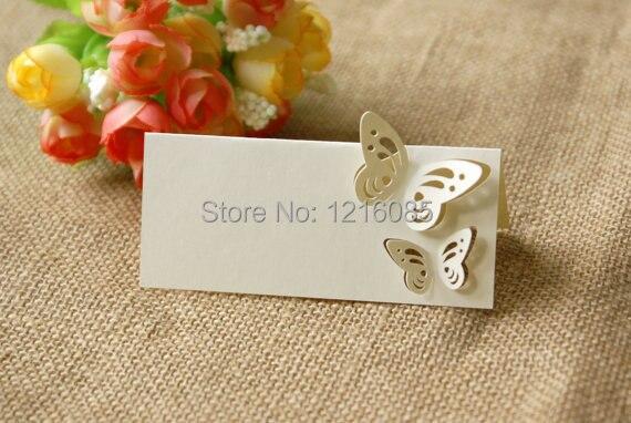 Segnaposto Matrimonio Aliexpress.Luogo Di Nozze Carte Segnaposto Escort Carte Di Nome Carte Ivory