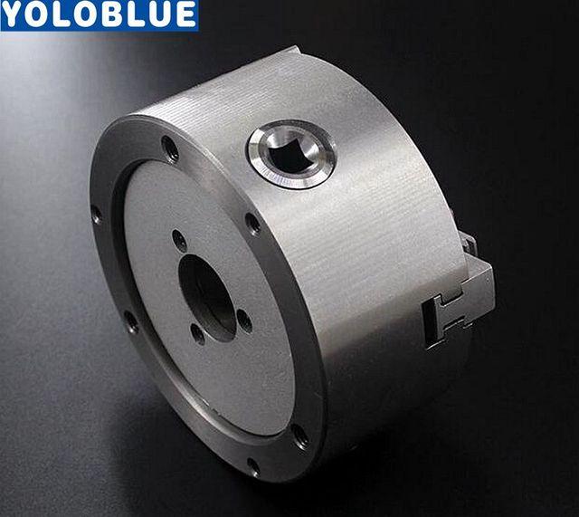 3 Jaw Lathe Chuck 80mm 100mm 125mm 130mm 160mm 200mm Self-centering Metal Chuck CNC Metalworking Tool