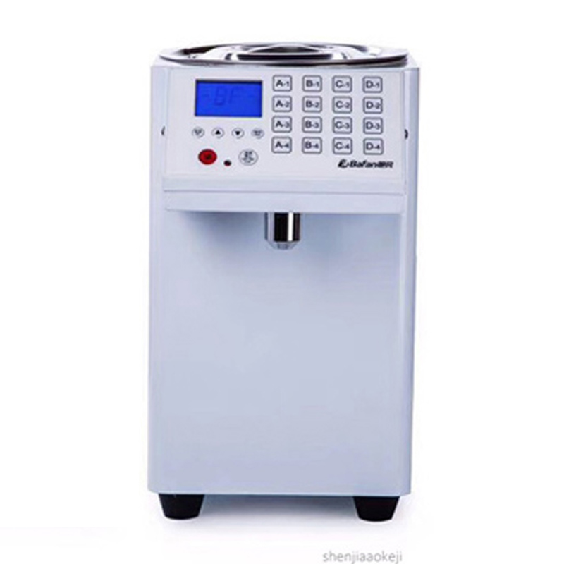 Fructose Machine Automatic Fructose Quantitative Machine 16 Grid Commercial Quantitative Machine Tea Shop Special Equipment 220V