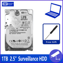 "WD10JUCT 1 TB 1000G 2.5 ""Surveillance Hard Disk Drive HDD HD Harddisk Notebook Laptop Monitor 16 M 5400 rpm 9.5 Mm untuk DVR NVR CCTV(China)"