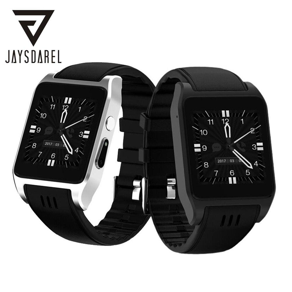 JAYSDAREL X86 Smart Watch Camera 2.0 MP Support Nano SIM Card Fitness Tracker Pedometer MT6572 4GB Bluetooth Smartwatch Phone