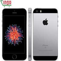 Apple iPhone Dual Core teléfonos celulares 12MP iOS Huella digital Touch ID 2GB de RAM 16/64GB ROM 4G LTE Refurbished iPhone SE