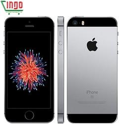 Apple iphone se duplo núcleo telefones celulares 12mp ios impressão digital touch id 2 gb ram 16/64 gb rom 4g lte remodelado iphone se