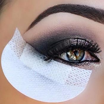 100 pcs Eyeliner Bouclier pour Fard À Paupières Boucliers Protecteur Tampons Jetables Non Pelucheux Patch Faux Cils Extension Maquillage Outil