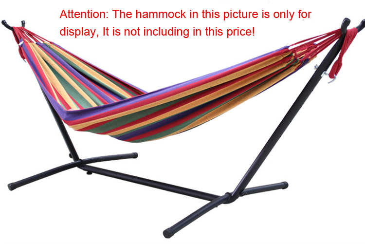 Portable Camping Hammock Stands Outdoor Hanging Hammock Holder Indoor  Double Swing Hammock Stand Indoor Steel Hammock Stand In Hammocks From  Furniture On ...