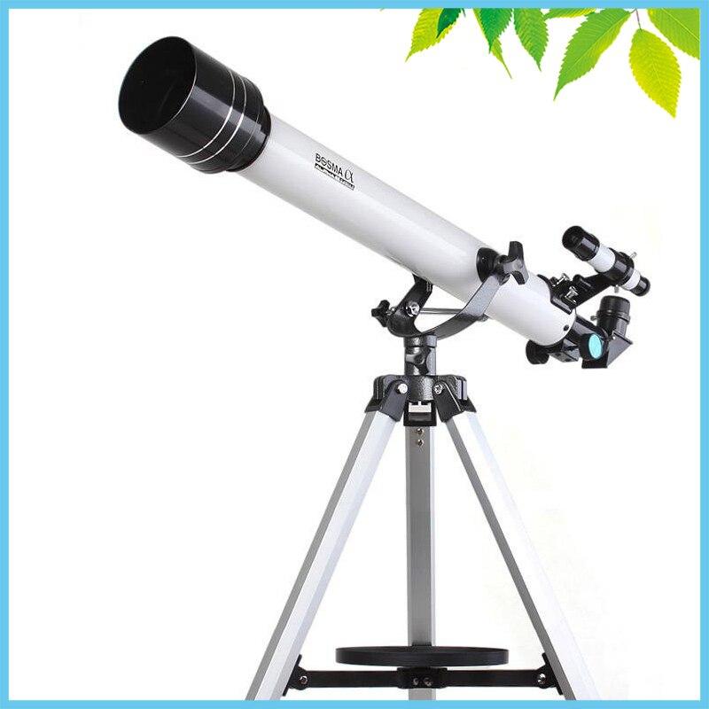 525X Профессиональный показатель астрономический телескоп со штативом Finder Монокуляр Зрительная труба 700/60 мм Telescopio отличный подарок