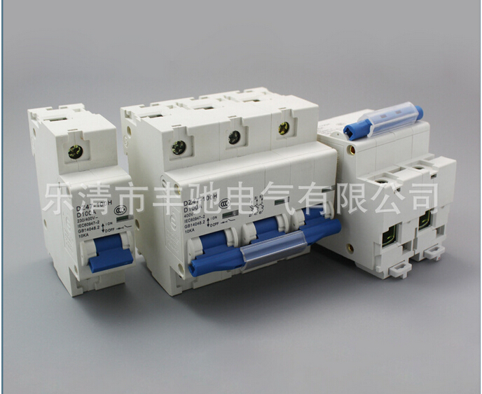 DZ47LE 2P+N 100A 230/400V~Small leakage circuit breaker DZ47LE-100A Household leakage protector switch dz47le 3p n 100a 220 380v small earth leakage circuit breaker dz47le 100a household leakage protector switch rcbo