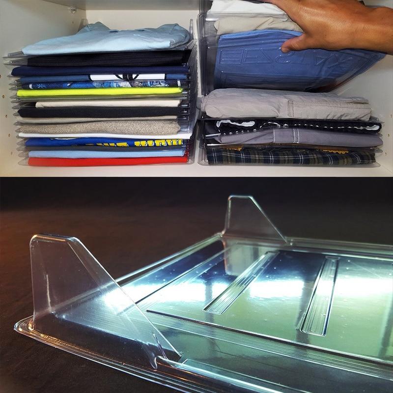 NEW 1pcs Closet Organizer and Shirt Folder  Regular Size Organization Office Desk File Cabinet Organizer