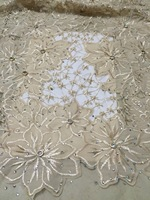 New arrival net lace tulle fabrics blush pink french lace fabric high quality metallic nigerian lace fabric 2018 aso ebi KCD2098