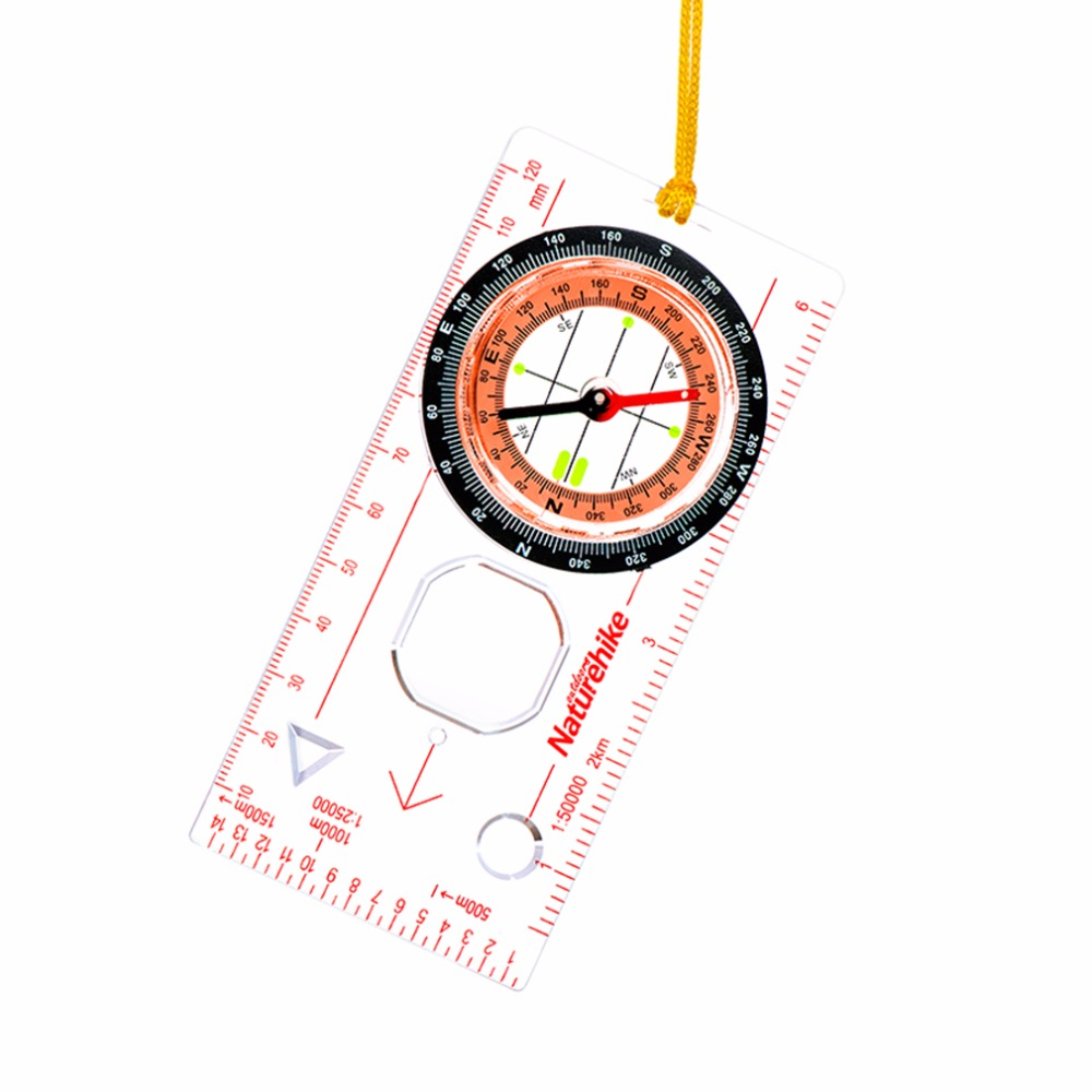 Image 5 - Transparent compass Direction Guide Orienteering Scouts Army Survival Camping Outdoor Hot Sale wholesale-in Compass from Sports & Entertainment