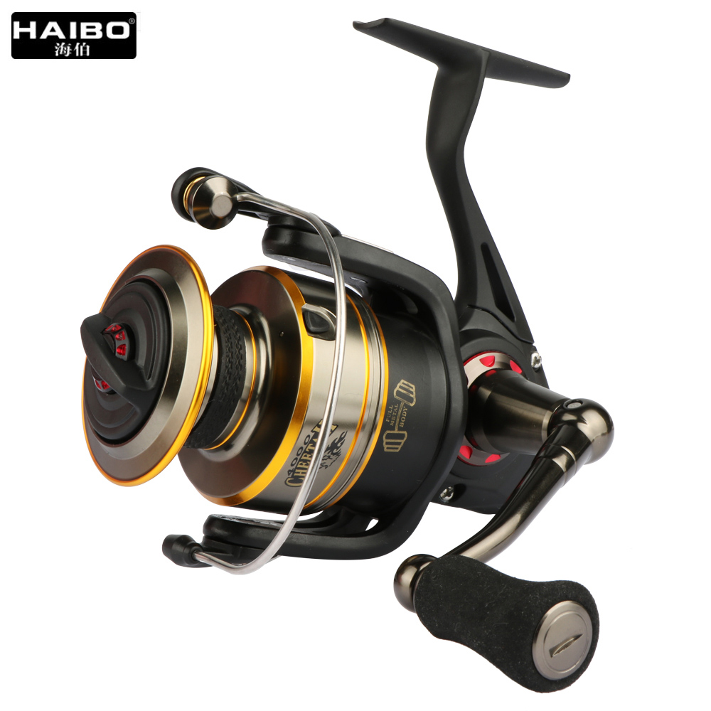 Haibo brand spinning reel fishing reel top quality 6 1 for Top fishing reels