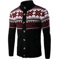 Inverno Mens Camisolas Cardigan Malhas dos homens de Design de Moda Nacional Vento Cor Hit Casuais Blusas de Tricô Tops Casacos MC02