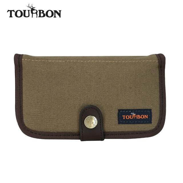 Tourbon Hunting Rifle Cartridges Portemonnee Ammo Schelpen Houder Gun  Bullet Pouch 10 Rondes Canvas voor Schieten