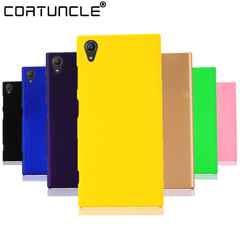 Galleria fotografica Phone Cases For Fundas <font><b>Sony</b></font> Xperia XA1 Case 360 Hard plastic PC Candy Color Back Cover For Coque <font><b>Sony</b></font> L1 XA1 Ultra XA1 Plus Case