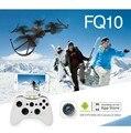 FQ777 FQ10 Wi-fi Zangão com 720 P Câmera RTF 6-axis Gyro Bolso Mini Drone RC Quadcopter 2.4 GHz FPV RC Dron Helicóptero F18047