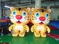 Бесплатная Доставка 2 м надувные подвижные мультфильма надувные тигра для рекламы