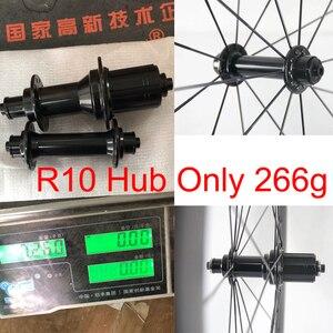 Image 1 - Road fiets Super licht Hubs alleen 266 g/set Kingkong R10 fiets Hub omvatten spies 20/24 gat substituut R13 hub