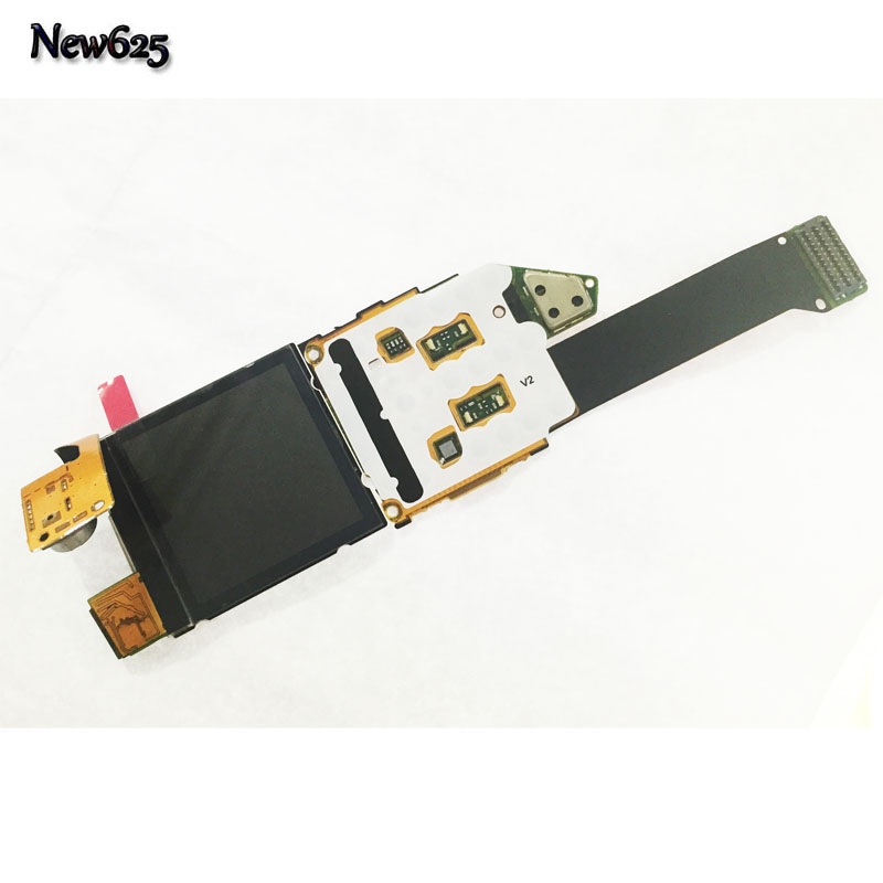 Original New For <font><b>Nokia</b></font> <font><b>8800</b></font> LCD Screen Display + Flex Mobile Phone cable + Camera With Flex Replacement part image