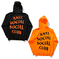 2017 Anti Social Social Club Hoodie Men Paranoid Anti Social Club Undefeated Cotton Hoodies Women Kanye ASSC Pullover Sweatshirt