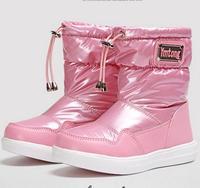 Children Snow Boots Fur Winter Girls Children Thicken Shoes For Baby Kids Child Snow Brand