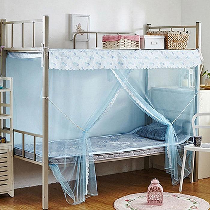 mosquitero de moda adulto cortinas mosquiteras camas con dosel dosel cama individual