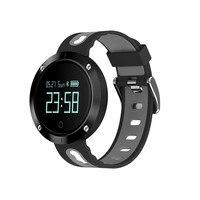 Blood Pressure Smartwatch Heart Rate Armband for Iphone Xiaomi Sport Calory Facebook Alert Smart Watch Men Women German Russian