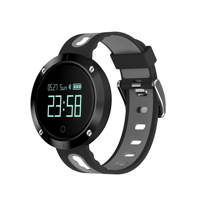 Pression artérielle Smartwatch fréquence cardiaque brassard pour Iphone Xiaomi Sport Calory Facebook alerte montre intelligente hommes femmes allemand russe