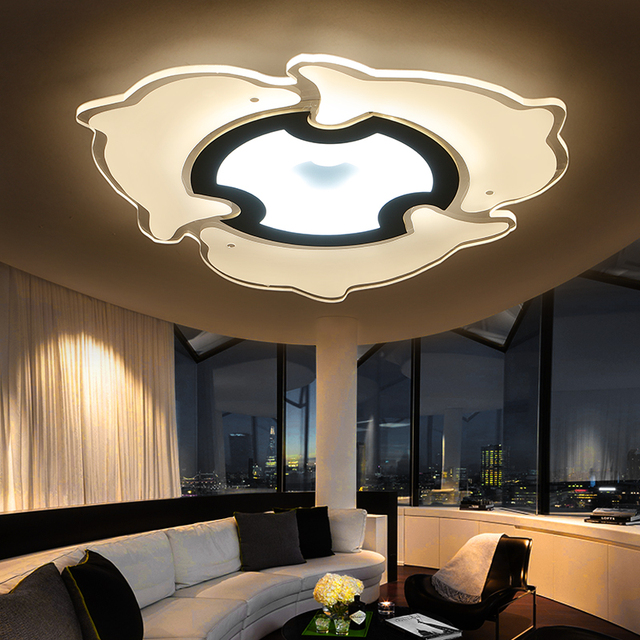 Modern Led Ceiling Lights For Living Room Indoor Lighting plafon ...