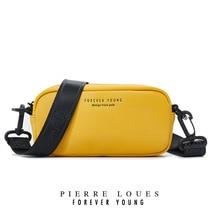 CHALLEN Female Casual Mini Crossbody Bag For Women Shoulder Bag PU Leather Phone Coin Bag New Trend 2019 Handbag Rectangle Shape