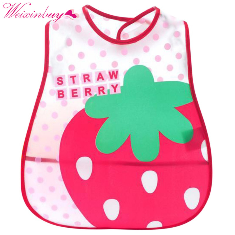 Baby Bibs Waterproof Silicone Newborn Saliva Feeding Towel Wholesale Cute Cartoon Bibs Baby 5 Style