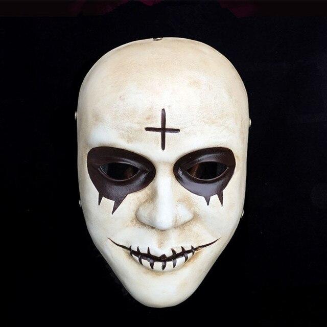 Caliente halloween cosplay partido m scara completa temas - Mascaras de terror ...